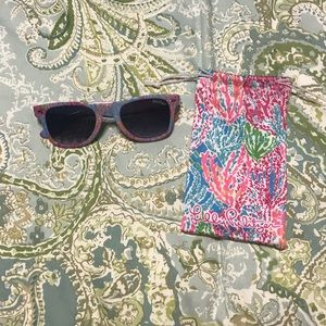 Lilly Pulitzer lets cha cha Madeline sunglasses